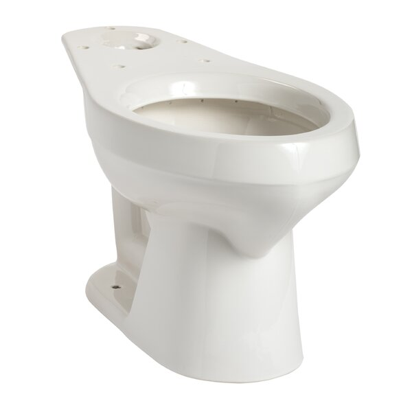 Summit Elongated Toilet Bowl by Mansfield Plumbing Products