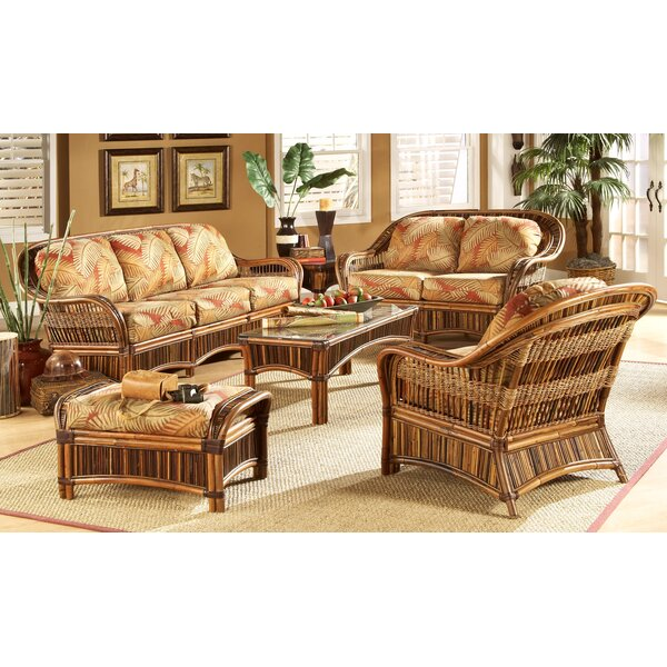 Ventura 6 Piece Living Room Set (Set of 6) by Bay Isle Home