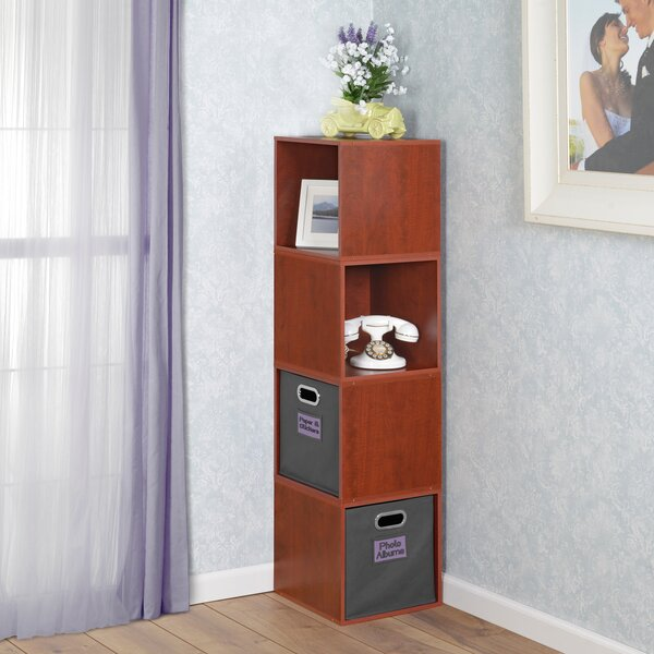 Cube Unit Bookcase by Rebrilliant