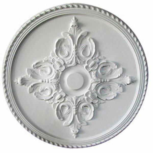 Milton 40 5/8H x 40 5/8W x 1 3/4D Ceiling Medallion by Ekena Millwork