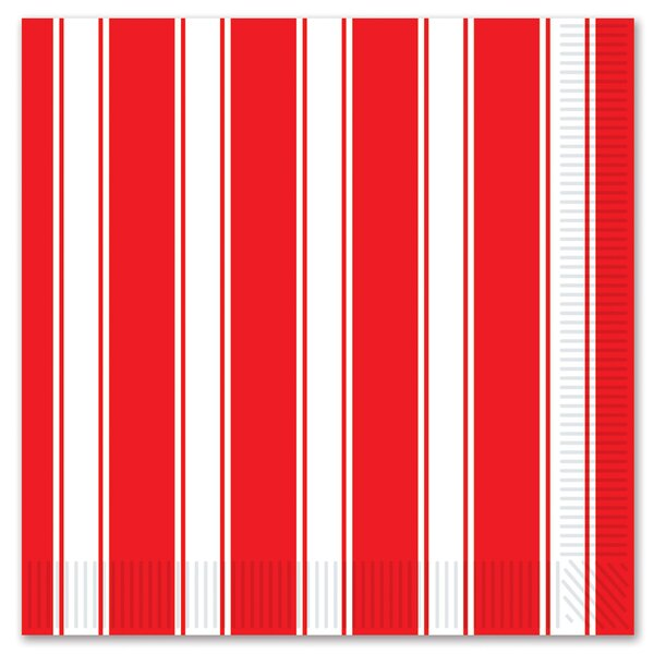 Circus Beverage Napkin (Set of 12) by The Holiday Aisle