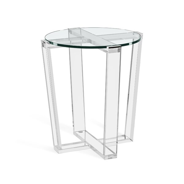 Jean Frame End Table by Interlude Interlude