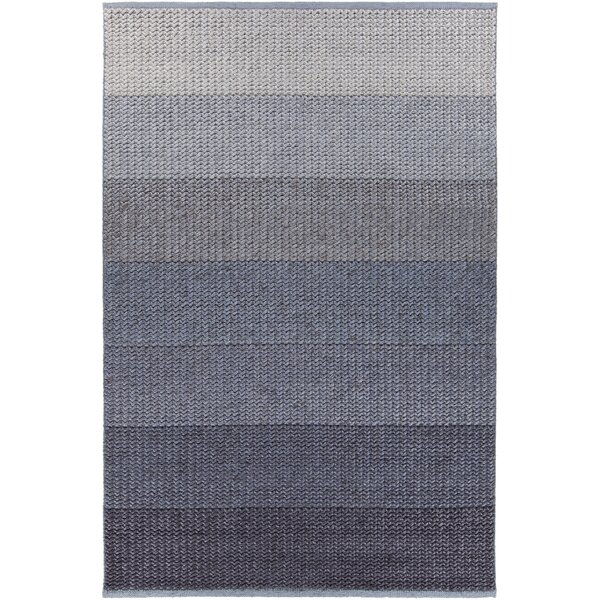 Faynett Hand-Woven Blue Area Rug by Red Barrel Studio