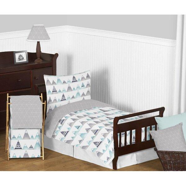 Mountains 5 Piece Toddler Bedding Set by Sweet Jojo Designs