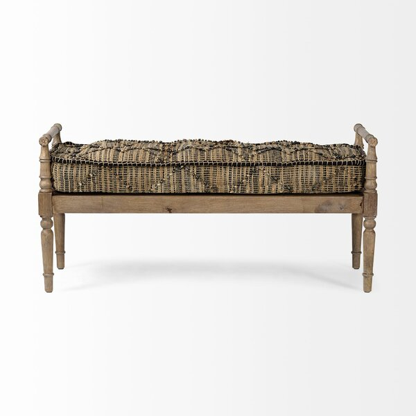 Harvell Upholstered Bench by Bloomsbury Market