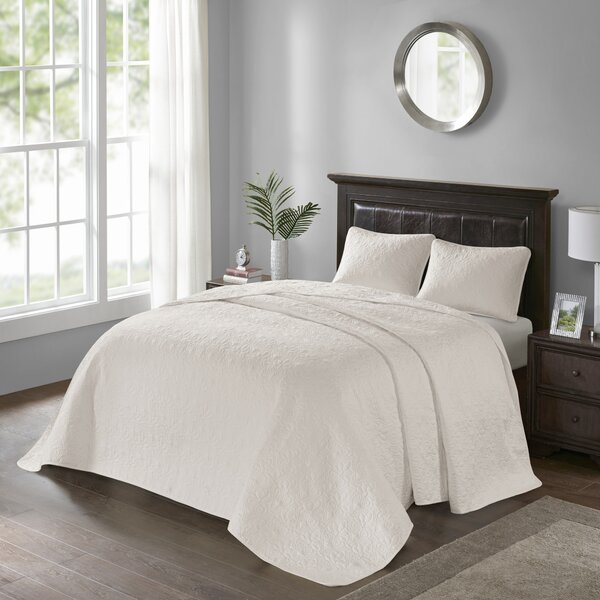 Riverside Reversible  Bedspread Set by One Allium Way