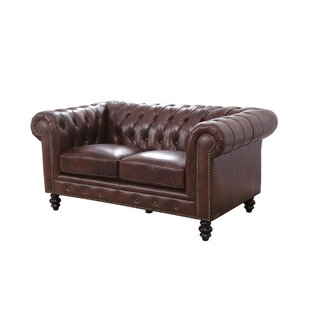 Terrific Brooklyn Chesterfield Loveseat Pabps2019 Chair Design Images Pabps2019Com