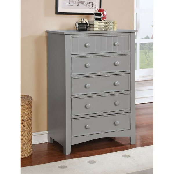 Meisel 5 Drawer Chest by Winston Porter