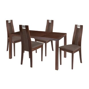 Adelina 5 Piece Dining Set By Ebern Designs