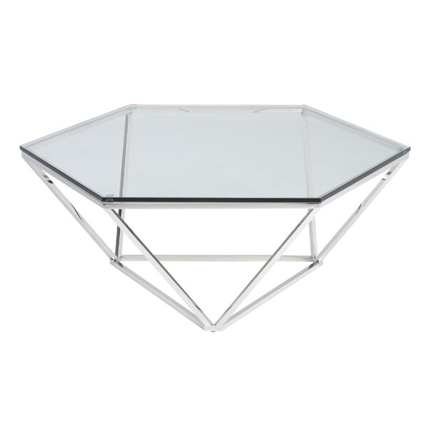 Kazell Coffee Table by Orren Ellis