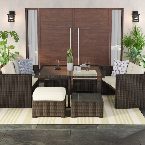 Keesler 7 Piece Dining Set by Brayden Studio