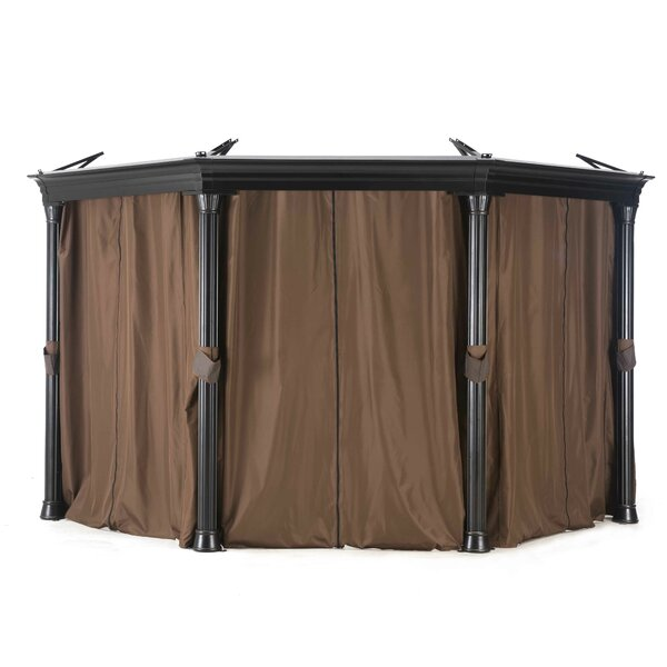 Universal Curtain for Octagonal Gazebo by Sunjoy