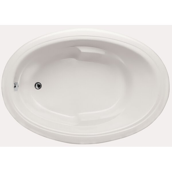 Builder Oval 72 x 42 Soaking Bathtub by Hydro Systems