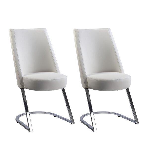 Tami Upholstered Dining Chair (Set of 2) by Chintaly Imports