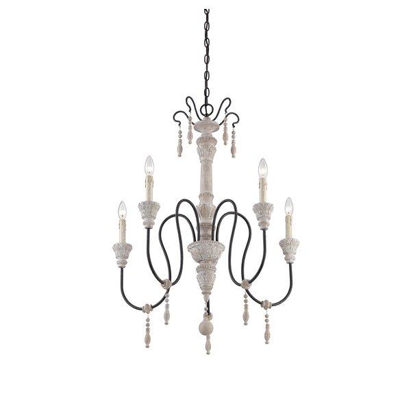 Corneau 5-Light Chandelier by Lark Manor