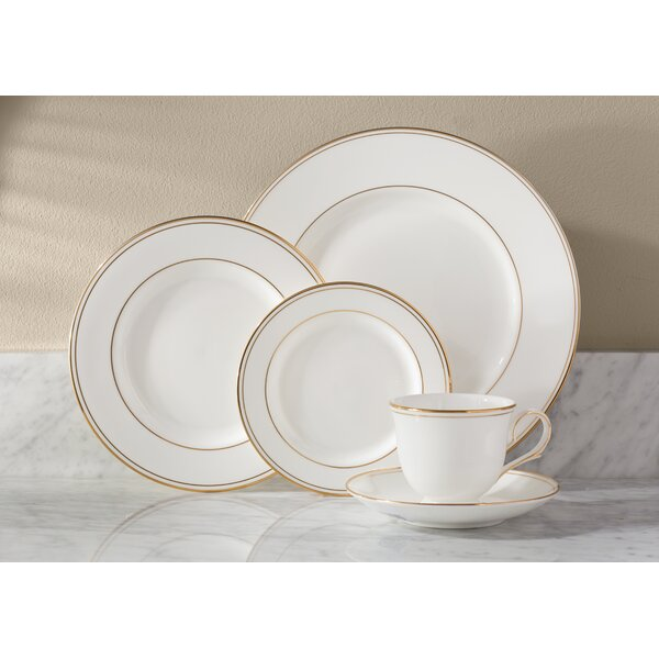 Federal Gold Bone China 5 Piece Place Setting, Service for 1 by Lenox