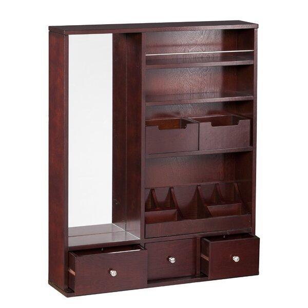 Apollo Over the Door Jewelry Armoire with Mirror by Darby Home Co