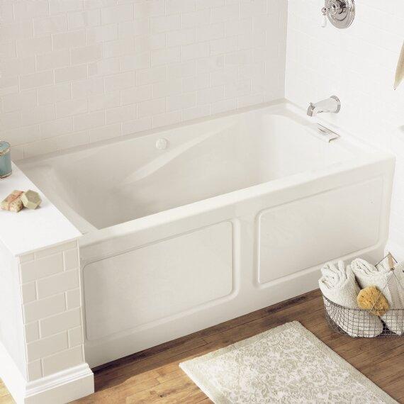Evolution 62.75 x 34.75 Soaking Bathtub by American Standard