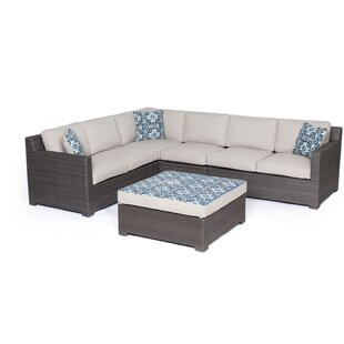 Abraham 5 Piece Sectional Set with Cushions ByBrayden Studio