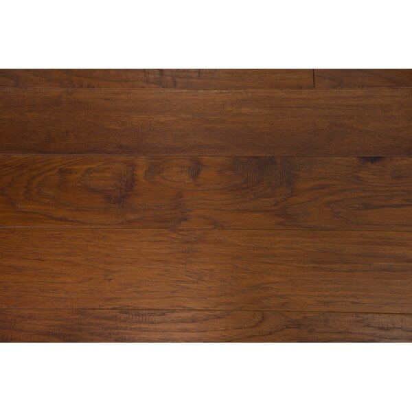 Sydney 7-1/2 Engineered Hickory Hardwood Flooring in Chestnut by Branton Flooring Collection