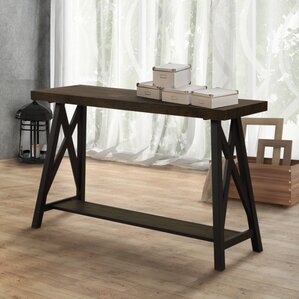 Mayur Industrial Console Table by Gracie Oaks