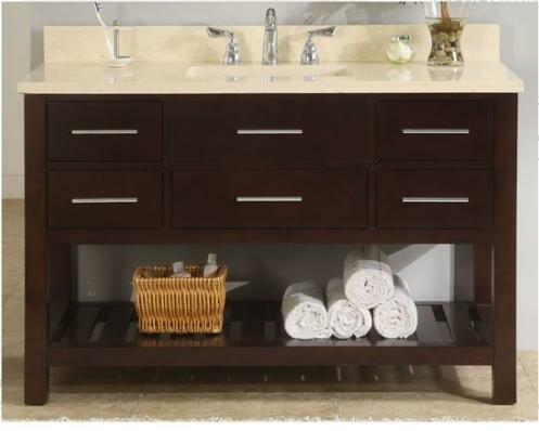 Priva 48 Open Bathroom Vanity Base by Empire Industries