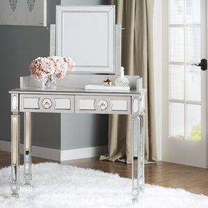 Rouillard Stanley Vanity with Mirror by Mercer41