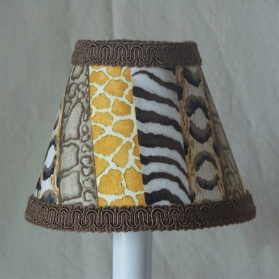 Jungle Luv 11 Fabric Empire Lamp Shade by Silly Bear Lighting