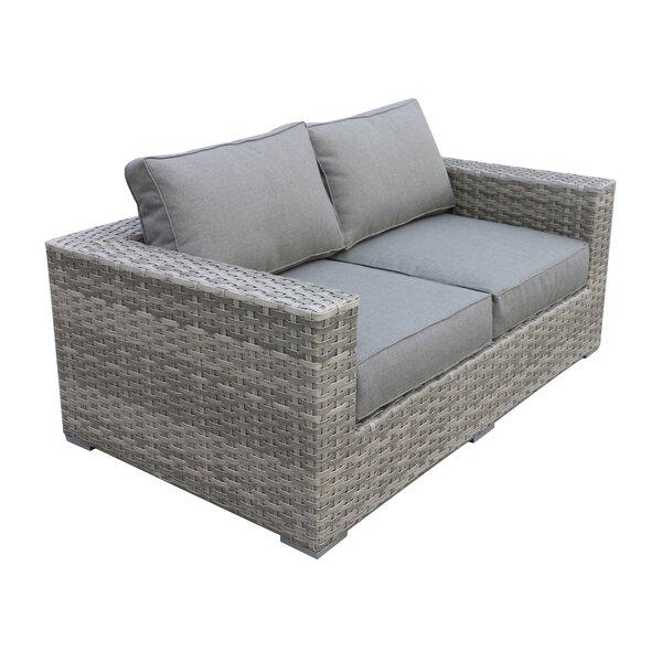 Kaiser Love Seat with Cushion by Brayden Studio