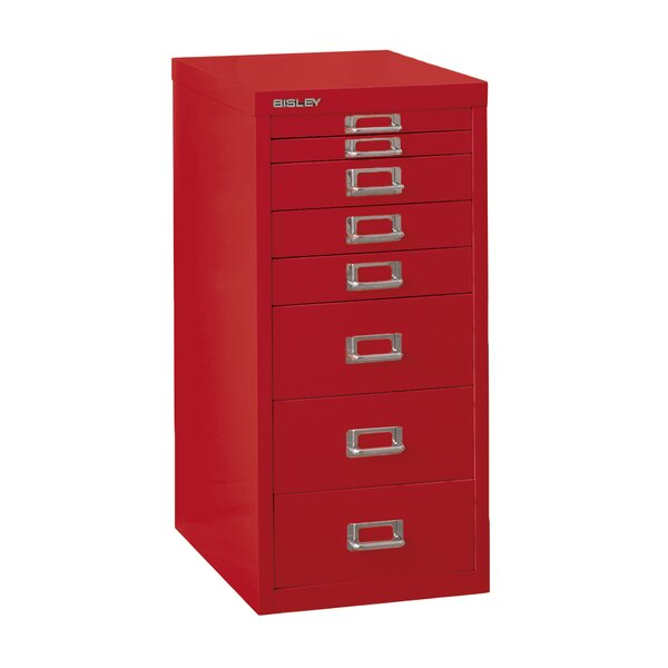 8-Drawer Vertical File by Bisley