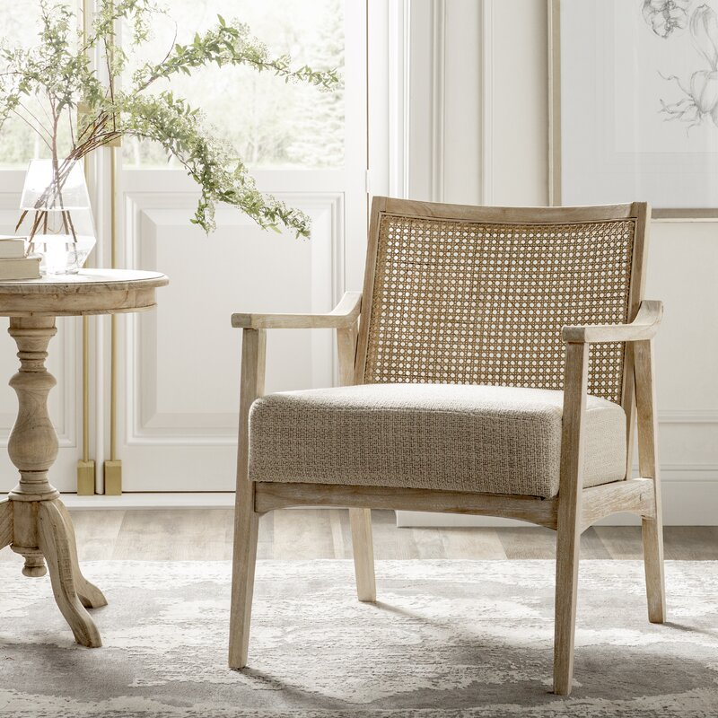 """Centennial 21.75"""" Armchair - you're going to love these furniture and decor pieces Kelly curated for Wayfair! #furniture #frenchcountry #kellyclarksonhome #chairs"""