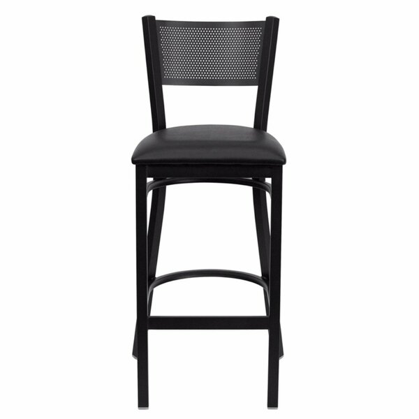 Dryden 30.25 Bar Stool with Cushion by Red Barrel Studio