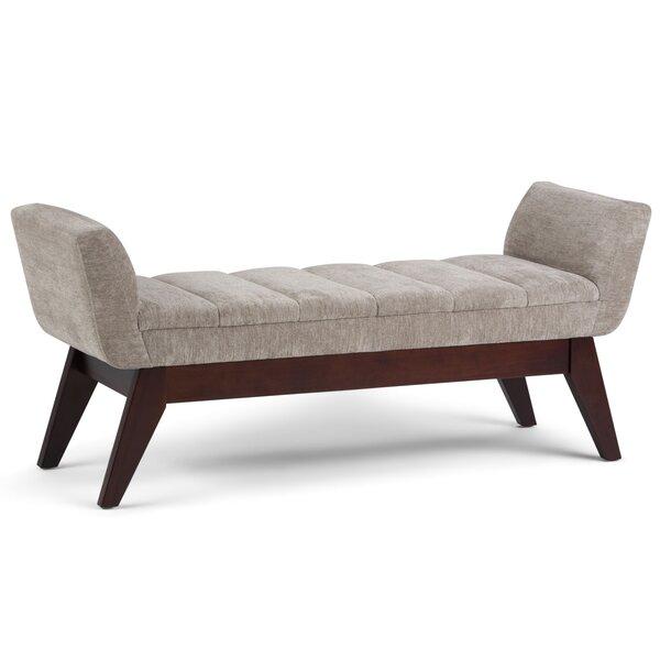 Hammondville Upholstered Bench by George Oliver
