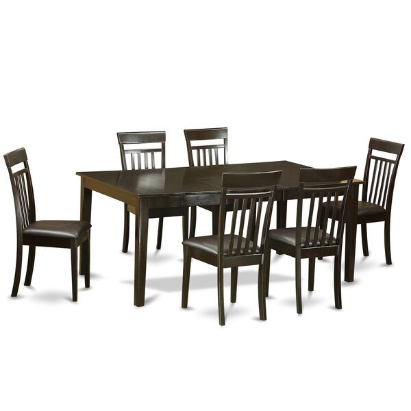 Forada 7 Piece Dining Set by Red Barrel Studio Red Barrel Studio