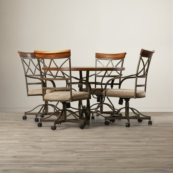 Villela 5 Piece Dining Set by Red Barrel Studio