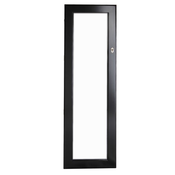 Lauder Over The Door/Wall Mounted Jewelry Armoire with Mirror by Red Barrel Studio