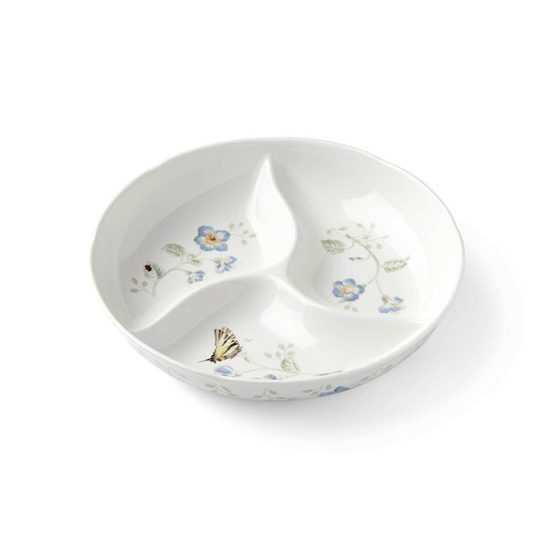 Butterfly Meadow Divided Serving Dish by Lenox