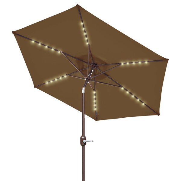 Talkington 8' Beach Umbrella by Highland Dunes Highland Dunes
