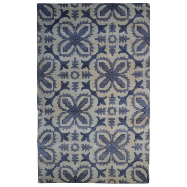 Wool Floral Hand-Tufted Area Rug by Eastern Weavers