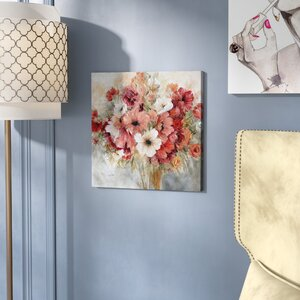 'Garden's Passion' Oil Painting Print on Wrapped Canvas by Rosdorf Park