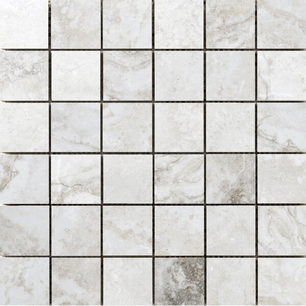 Gateway 2 x 2 Porcelain Mosaic Tile in Avorio by Emser Tile