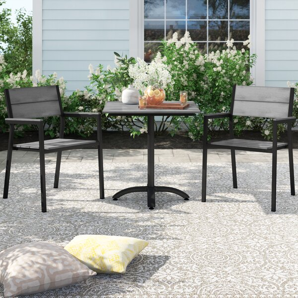 Windsor 3 Piece Bistro Set by Sol 72 Outdoor