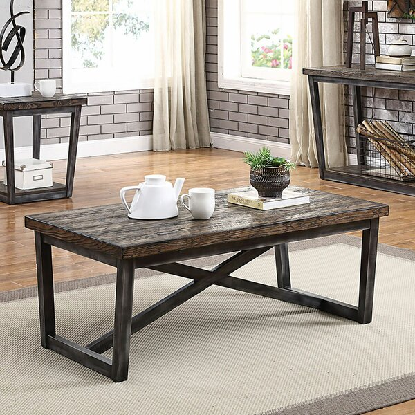 Clarkson Coffee Table by Gracie Oaks Gracie Oaks
