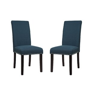 Price comparison Redfield Upholstered Dining Chair (Set of 2) by Three Posts