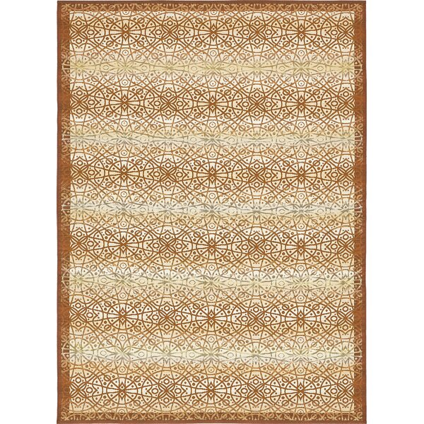 Jamie Beige Indoor/Outdoor Area Rug by Bloomsbury Market