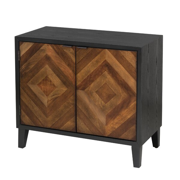 Mererid Inlay 2 Door Accent Cabinet by Union Rustic