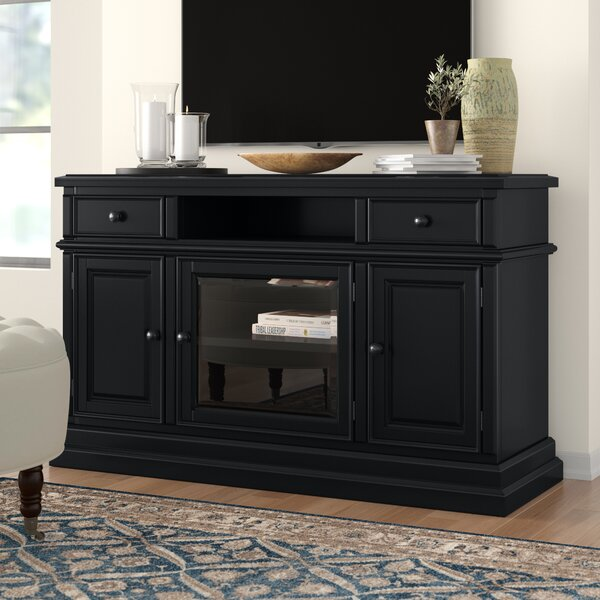 Review Courtdale Solid Wood TV Stand For TVs Up To 60