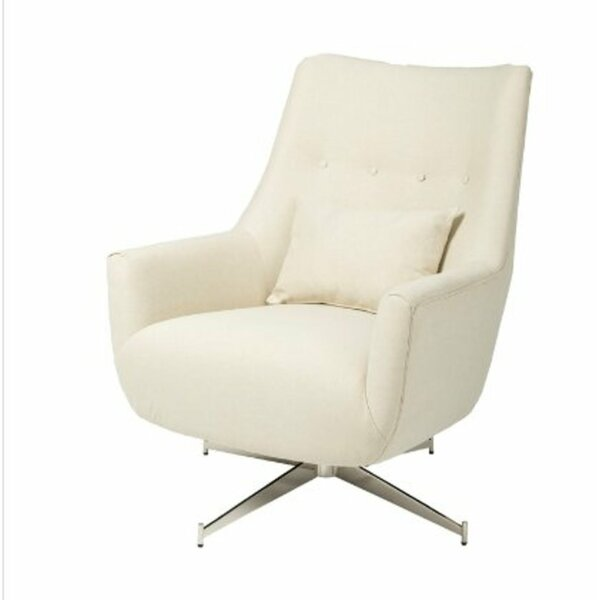 Forsman Swivel Club Chair by Orren Ellis