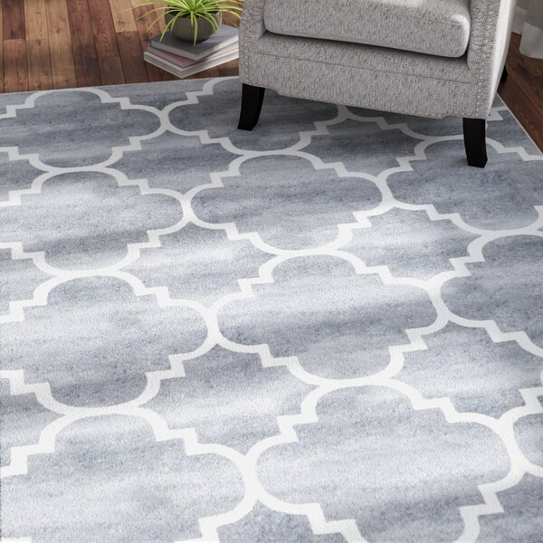 Shelley Gray Indoor/Outdoor Area Rug by Andover Mills
