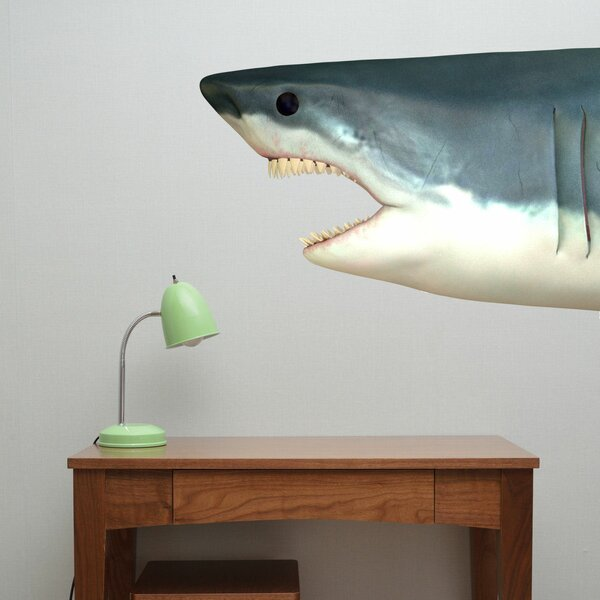 Shark Head Fabric Wall Decal by Decal the Walls